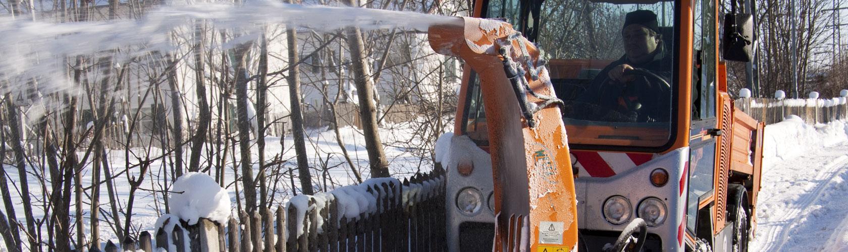 Winterdienst Schneeräumfahrzeug