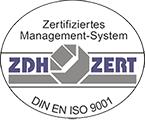 Zertifiziertes Management nach DIN EN ISO 9001